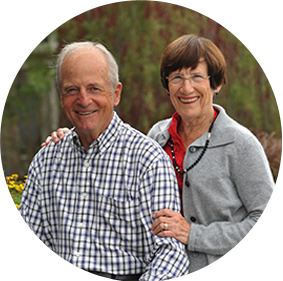 Ginny & Peter Ueberroth